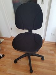 Fast neu - Schwarzer Bürostuhl Black