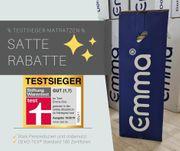 Testsieger Matratzen Emma one 90x200