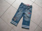 Jeans 3 4 Minnie Mouse