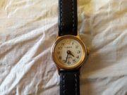 TIMEX Damen-Quartz-Armbanduhr mit Sekundenzeiger Stahlboden