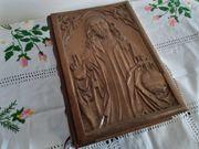 Top Riemenschneider Bibel Holz Leder