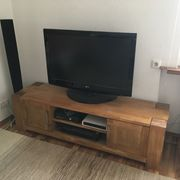 TV-Möbel Hi-Fi Schrank Massivholz