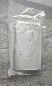Münzbarren Silber Eule von Athen