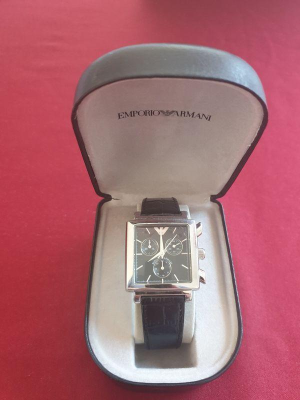 Uhr Armbanduhr Chrono Emporio Armani