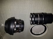 Analoge Spiegelreflexkameras im Koffer