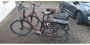 2 E-Bikes mit Tiefeinstieg und
