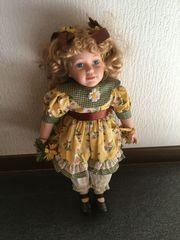 Porzellan-Puppe Künstler-Puppen von Thelma Resch