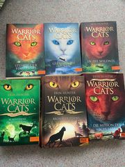 Diverse Warrior Cats Bücher-in gutem