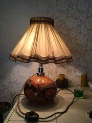 Vintage Lampe mit unterschiedlichen Beleuchtungsmöglichkeiten