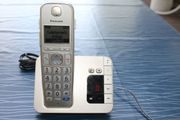 DECT-telefon Komforttelefon m Anrufbeantworter Panasonic