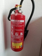 Pulver Feuerlöscher