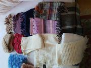 Schals Hausschuhe