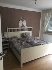 Ikea Bett weiß 1 80x2