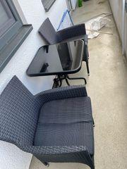 Balkon Möbel Tisch Stühle