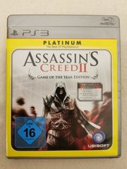PS3 Assassins Creed II Spiel