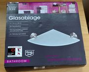 Glasablage Easy Home Edelstahl