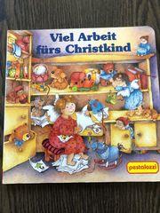 Pappbuch Viel Arbeit fürs Christkind
