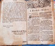 Religiöses Werk von 1745 Originaldruck