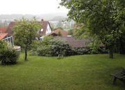 Grundstück mit Gartenhaus eingewachsen Am