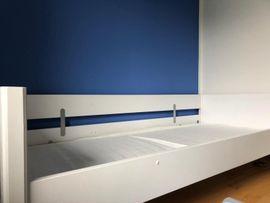 Kinder-/Jugendzimmer - Gepflegtes Paidi Hochbett weiß 125cm