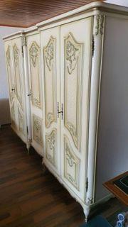 Fünfteiliges Chippendale Schlafzimmer aus Buchenholz