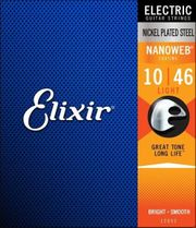 3x Elixir Electric Nanoweb Light 010