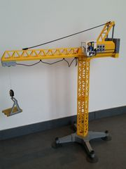 Großer Baukran Playmobil elektrisch