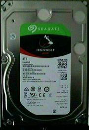 1x 8TB Seagate IronWolf NAS