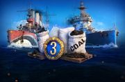 World of Warships 2 Premiumschiffe