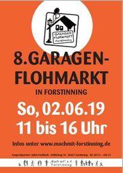 8 Garagenflohmarkt Forstinning am 02