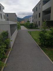 Stiegenhaus und Grünanlagen Betreuer