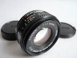 Foto und Zubehör - RICOH RIKENON P 50mm F1