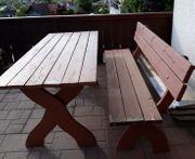 HOLZ Tischgarnitur für Garten druckimprägniert