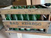 Bad Kehlegger Mineralwasser Holzkiste und