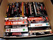 VHS SPIELFILM- UND MUSIKVIDEOSAMMLUNG MIT