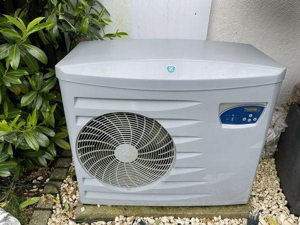 Pool Wärmepumpe ZODIAC 13, 7 KW auf 90 qm Luft Wasser Schwimmbadheizung