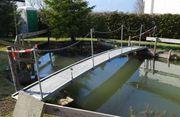 Brücke für einen Teich