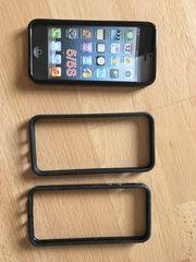 S6 IPhone-Schutz schwarzer Kunststoff
