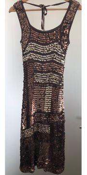 NICOWA Damen Kleid Cocktailkleid Partykleid