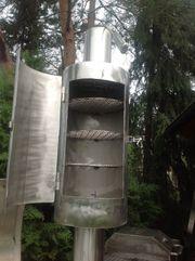 Eigenbau 24 Reverseflow Smoker aus