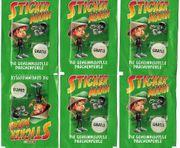 Spar-Sticker Stickermania verschiedene Serien