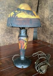 Lampe Daum Nancy um 1900
