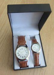 Armbanduhren-Set für Damen Herren