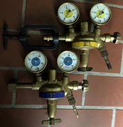Autogen Schweißarmatur Sauerstoff-Druckregler Azetylen Druckregler