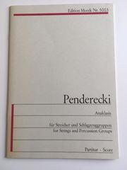 Penderecki Anaklasis