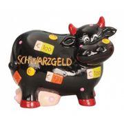 NEU Spardose Kuh Schwarzgeld Geldgeschenk