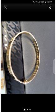Cartier Armreif 585er Gold Neu