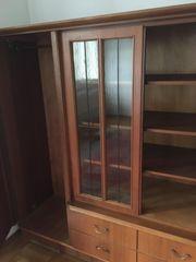 Wohnzimmerschrank Holz massiv 210 x