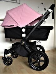 Bugaboo Cameleon 3 schwarz pinker