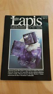 Echte Seltenheit Lapis Heft Januar